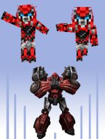 War for Cybertron Ironhide by Vander-Axis