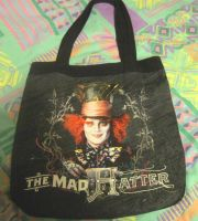 my bag with the mad hatter by LionessQueen91