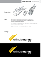Ultimate Marine Logo by gufranshaikh