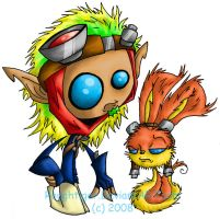 Jak And Daxter RT STYLED by Roughtiger