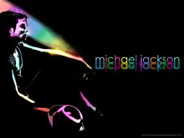 Michael Jackson Wallpaper by FatMenSweat