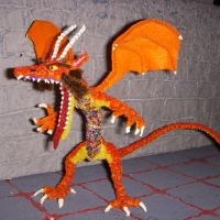 Bejewelled Dragon Figure by the-gil-monster