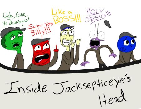 Inside Out: Jacksepticeye's Head by RaltheCommentator