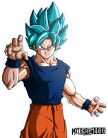 Perfected Super Saiyan Blue Goku by Mitchell1406