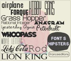 Hipster Font's by FranceEditions