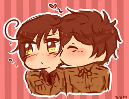 [Hetalia] Chibi Spamano for Roma-chan by THE-L0LLIP0P