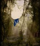 Royal Mile, Edinburgh, 2075 by Robert-Wood