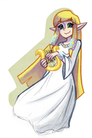 Zelda - Skyward Sword by bucketofROBOTS