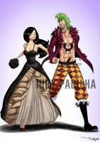 Commission: Bartolomeo and Serene by iurypadilha