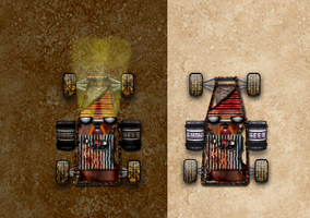 rejigged cars for game by STiELzephyr