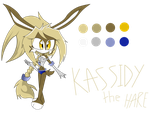Kassidy The Hare .New Sonic Fan Chara. by shadcream4eva