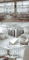 Backgrounds - Interiors by iCephei