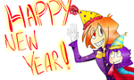 HAPPY NEW YEAR, YEAAAAAHHHH by inuyashafangirl94