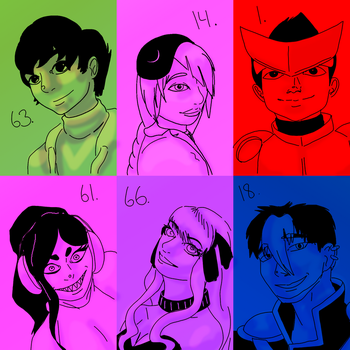 Otherside Hopefuls: Batch Two by crazyshiro