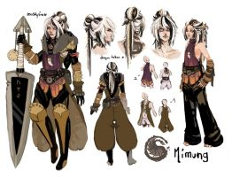 +refsheet:Mimung+ by Mostlynice
