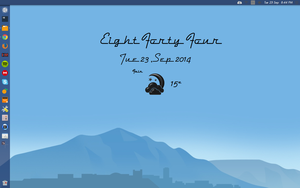 50s Conky Weather version. Made for Conky Manager by speedracker