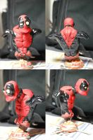 Deadpool Minibust by InvincibleSoul