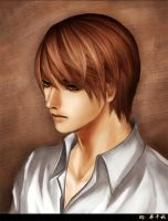 Light Yagami by Qianqiu
