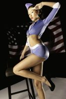 wwii pin-up sabina 1 by jaysu