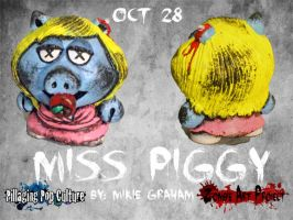 Z.A.P.3 Oct 28 Miss Piggy 2 by zombiemonkie