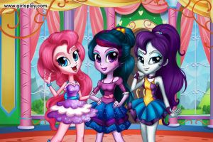 Pinkie,Twilight,Rarity by Daring-danger-do