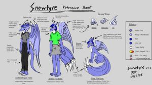 Snowfyre Reference sheet V1.3 by Snowfyre