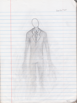 Slender Man by TheHeroOfLight
