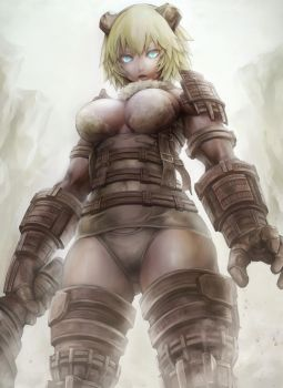 girl shadow colossus by luigi-luigi
