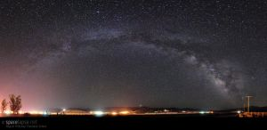 Protecting Earth - Milkyway by spacelapse