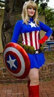 Ms Captain America by Indefinitefotography