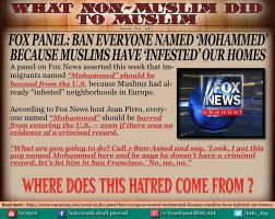 Fox Panel wants to ban Muslims by SaraIsSarah