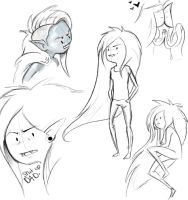 Marceline Sketches by Bekuhz