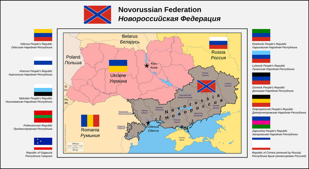 Novorussian Federation by zmijugaloma