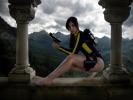 Lara Croft Tomb Raider Underworld Wetsuit by Jessie-TR