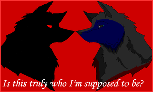 Who Am I? by Wolfy-Artist