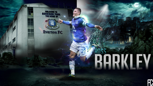 Ross Barkley Wallpaper Work by ANILDD11