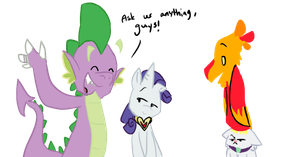 Ask Spike and Rarity Blog *OPEN!* by inkypaws-productions