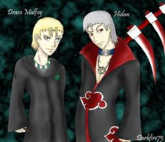 Malfoy and Hidan by Darkfire75