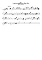 America's Storage Room Cleaning Sheet Music Flute by OtakuKonami