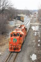 The J at Rondout by laxhogger