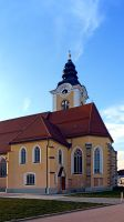 The village church of Sankt Marienkirchen III by patrickjobst