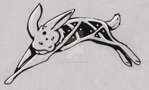 Celtic Rabbit Tattoo by Stormslegacy