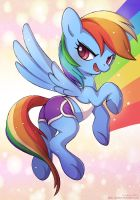 Rainbow Dash by LCibos