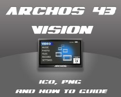 archos 43 vision icon by skater-andy