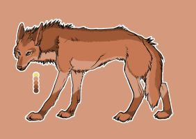 Design Contest Brown Wolf by animelovers21