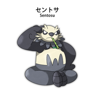 Pancham evolution by Pokemon-Diamond