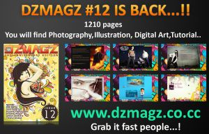 DZMAGZ ISSUE 12 by itachi-ulya22