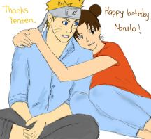 Happy Birthday Naruto by afrillia