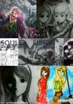 Compilation of Illusoule Artworks 1 by Illusoule
