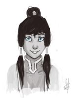 Korra Portrait by ditto9